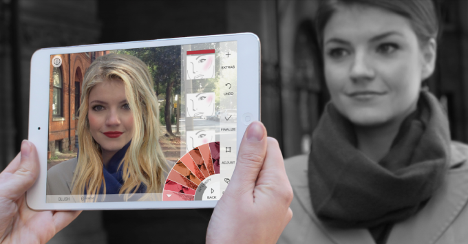 Makeup-producenter anvender augmented reality