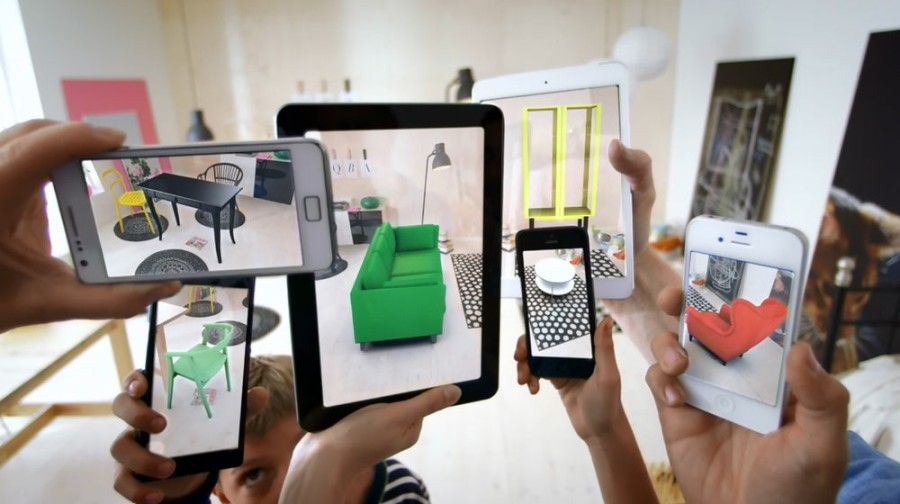 IKEA augmented reality shopping app