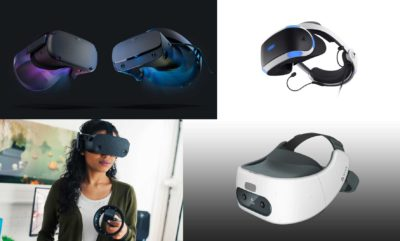 Fotos: Oculus, Sony, HP, HTC.